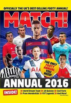 Book cover for Match Annual 2016