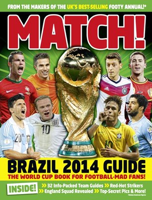 Book cover for Match World Cup 2014