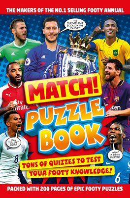 Book cover for Match! Football Puzzles