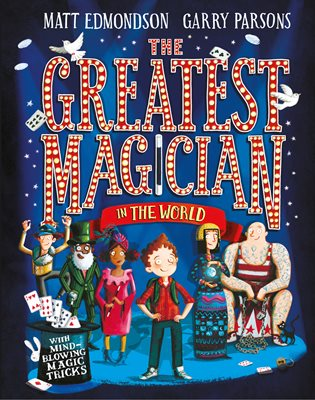 Book cover for The Greatest Magician in the World