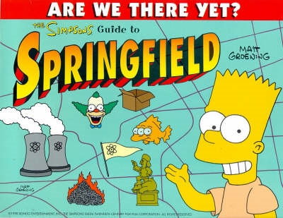 Book cover for Simpsons' Guide to Springfield