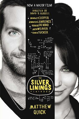 Book cover for The Silver Linings Playbook (film tie...