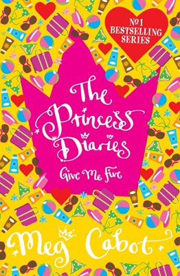 Book cover for The Princess Diaries: Give Me Five