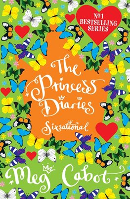 Book cover for The Princess Diaries: Sixsational