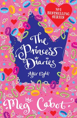 Book cover for The Princess Diaries: After Eight