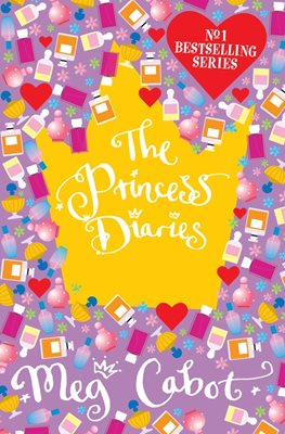 Book cover for The Princess Diaries