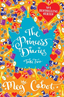 Book cover for The Princess Diaries: Take Two