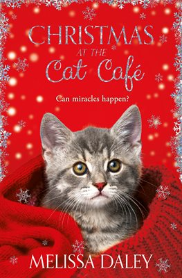 Book cover for Christmas at the Cat Cafe