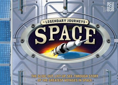 Book cover for Legendary Journeys: Space