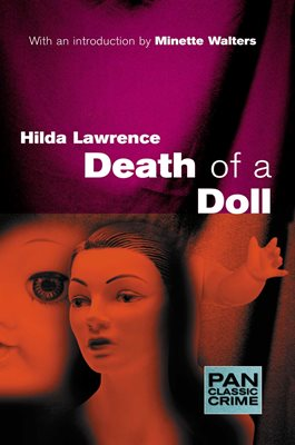 Book cover for Death of a Doll