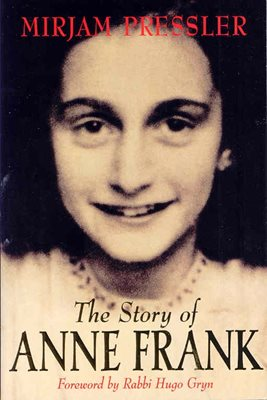 Book cover for The Story of Anne Frank