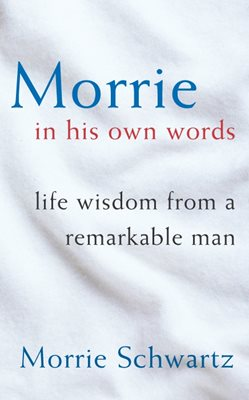 Book cover for Morrie In His Own Words