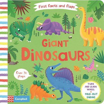 Book cover for Giant Dinosaurs
