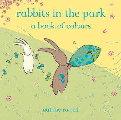 Book cover for Rabbits in the Park: A Book of Colours