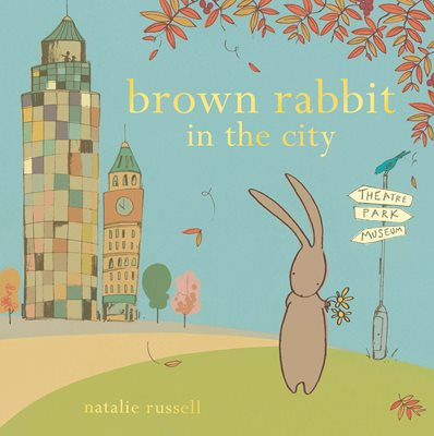 Book cover for Brown Rabbit in the City