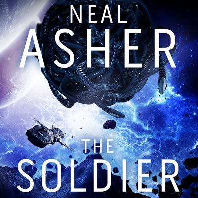 Book cover for The Soldier