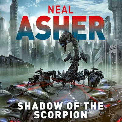 Book cover for Shadow of the Scorpion