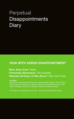 Book cover for Perpetual Disappointments Diary