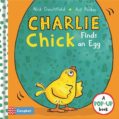 Book cover for Charlie Chick Finds an Egg