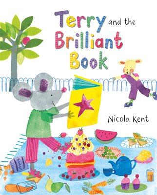 Book cover for Terry and the Brilliant Book