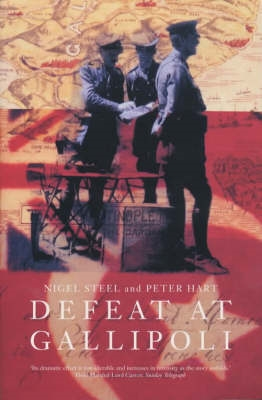 Book cover for Defeat at Gallipoli