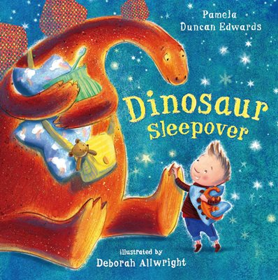 Book cover for Dinosaur Sleepover