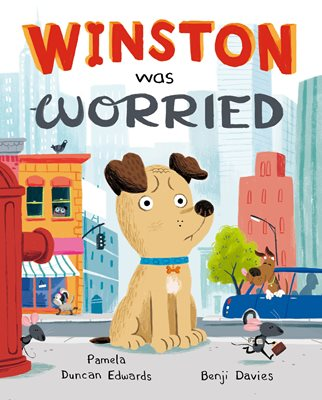 Book cover for Winston Was Worried