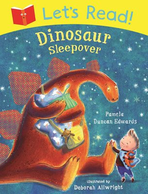 Book cover for Let's Read! Dinosaur Sleepover