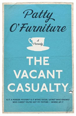 Book cover for The Vacant Casualty