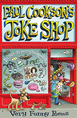 Book cover for Paul Cookson's Joke Shop