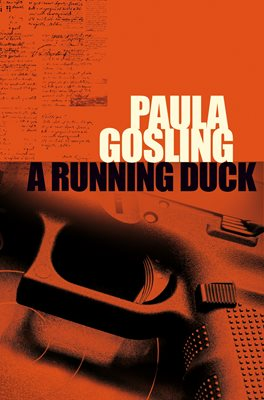 Book cover for A Running Duck