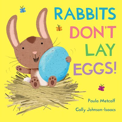 Book cover for Rabbits Don't Lay Eggs!