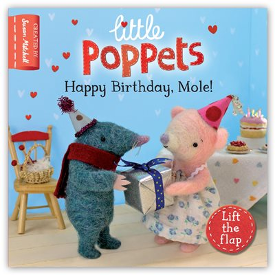 Book cover for Little Poppets: Happy Birthday, Mole!