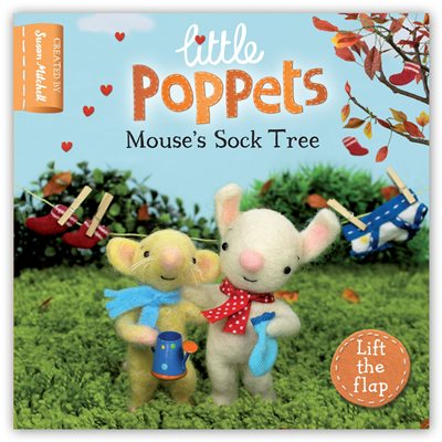 Book cover for Little Poppets: Mouse's Sock Tree