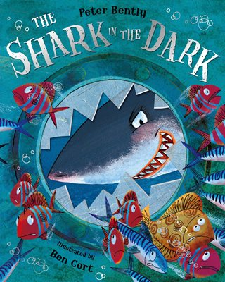 Book cover for The Shark in the Dark