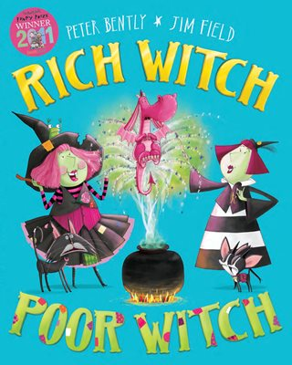 Book cover for Rich Witch, Poor Witch
