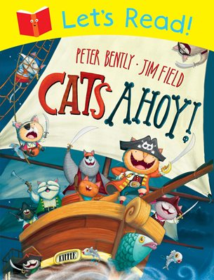 Book cover for Let's Read! Cats Ahoy!
