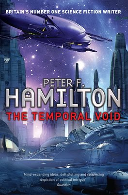 Book cover for The Temporal Void