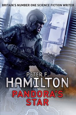 Book cover for Pandora's Star