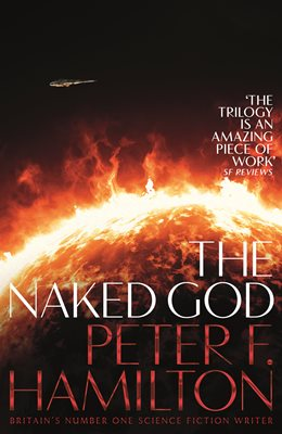 Book cover for The Naked God