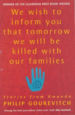 Book cover for We Wish to Inform You That Tomorrow We Will Be Killed With Our Families