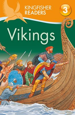 Book cover for Kingfisher Readers: Vikings (Level 3:...