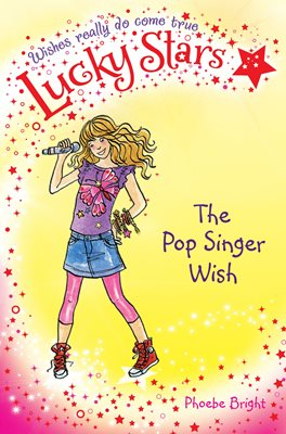 Book cover for Lucky Stars 3: The Pop Singer Wish