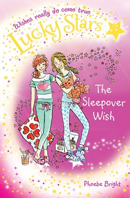 Book cover for Lucky Stars 8: The Sleepover Wish
