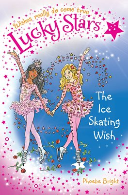 Book cover for Lucky Stars 9: The Ice Skating Wish