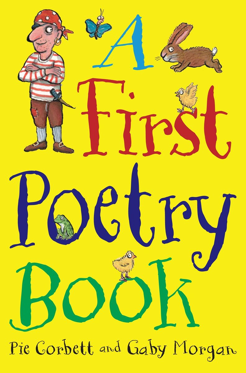 Poetry Book Cover Uk : A first poetry book macmillan by pie corbett