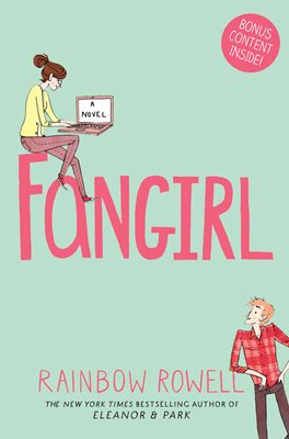 Image result for fangirl rainbow rowell book cover
