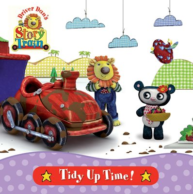 Book cover for Driver Dan's Story Train: Tidy-Up Time