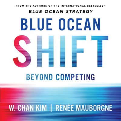 Book cover for Blue Ocean Shift