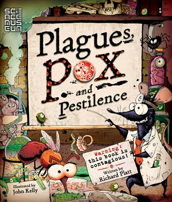 Book cover for Plagues Pox and Pestilence